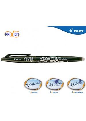 PILOT FRIXION 0.7 ΜΑΥΡΟ