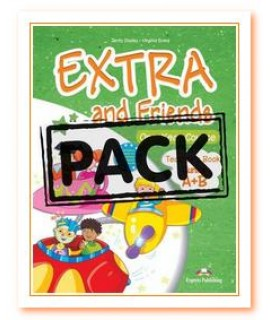 EXTRA AND FRIENDS A+B JUNIOR TEACHERS BOOK