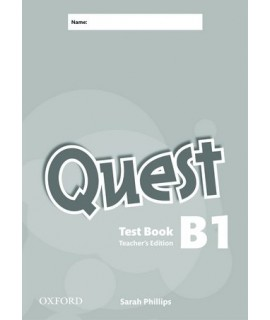 QUEST B1 TEST BOOK TCHRS