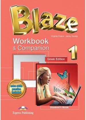 BLAZE 1 WORKBOOK+COMPANION