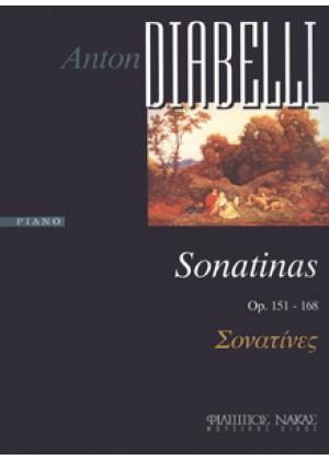ANTON DIABELLI SONATINAS OP.151.168