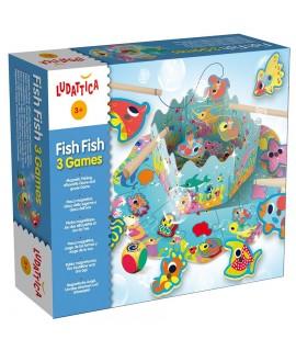 ΨΑΡΕΜΑ - 3 ΠΑΙΧΝΙΔΙΑ (FISH FISH)