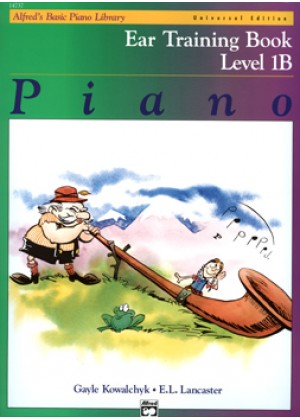 ALFRED'S BASIC PIANO LIBRARY - EAR TRAINING BOOK - LEVEL 1B