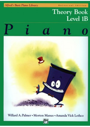 ALFRED'S BASIC PIANO LIBRARY - THEORY BOOK - LEVEL 1B