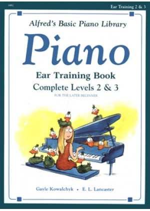 ALFERDS BASIC PIANO LIBRARY-COMPELETE EAR TRAINING LEVEL 2 & 3