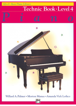 ALFREDS BASIC PIANO LIBRARY TECHNIC BOOK - ΕΠΙΠΕΔΟ 4