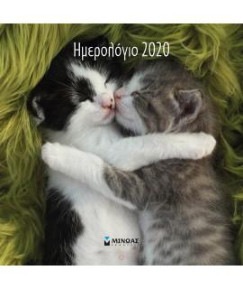 ΗΜΕΡΟΛΟΓΙΟ 2020 ΤΟΙΧΟΥ - ΓΑΤΑΚΙΑ
