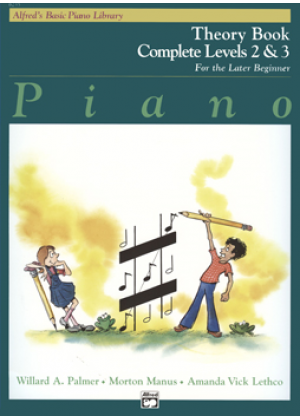ALFREDS BASIC PIANO LIBRARY - THEORY BOOK COMPLETE LEVEL 2 & 3