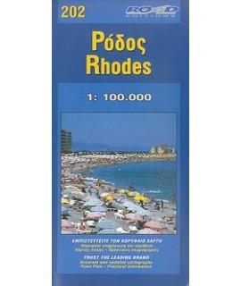 ΧΑΡΤΗΣ ΡΟΔΟΣ 1:100000