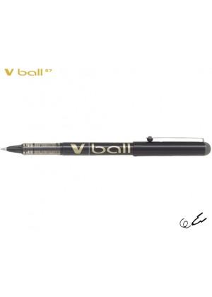 PILOT V-BALL 0.7 ΜΑΥΡΟ