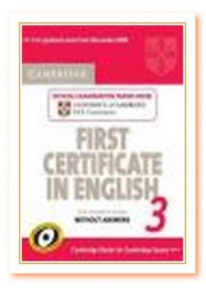 CAMBRIDGE FIRST CERTIFICATE PRACTICE TESTS 3 UPDATED